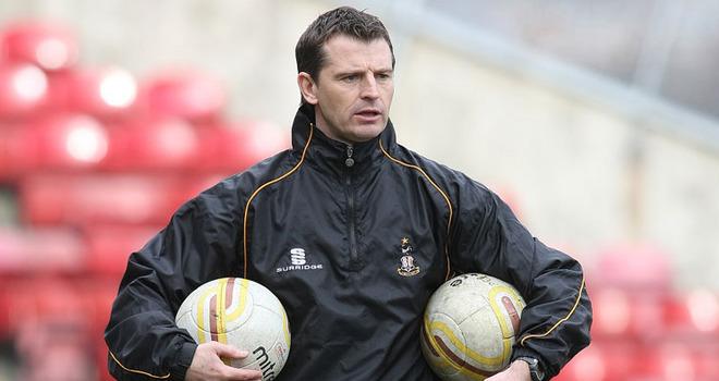 Bradford City and caretaker managers